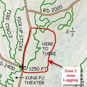 June 2015 - Zone 2 Logging