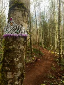 Put a crown on it. Fresh Trail!
