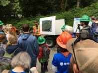 Reid Parker from Whatcom County Parks is coordinating this big effort and is doing a great job.