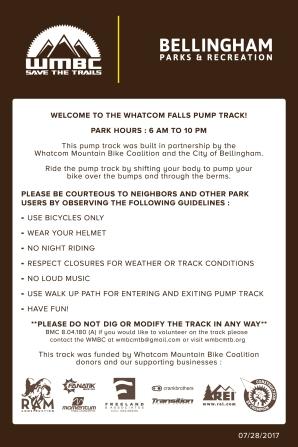 Pump Track Rules