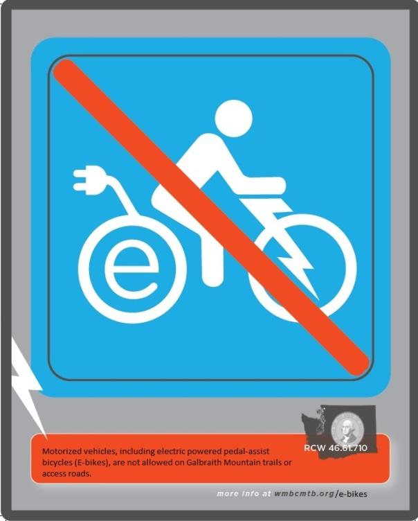 no e-bikes